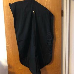 J. Crew canvas garment  bag